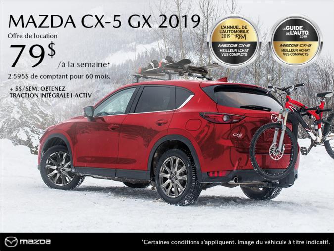 Mazda Gabriel St-Jacques - Procurez-vous la Mazda CX-5 2019!