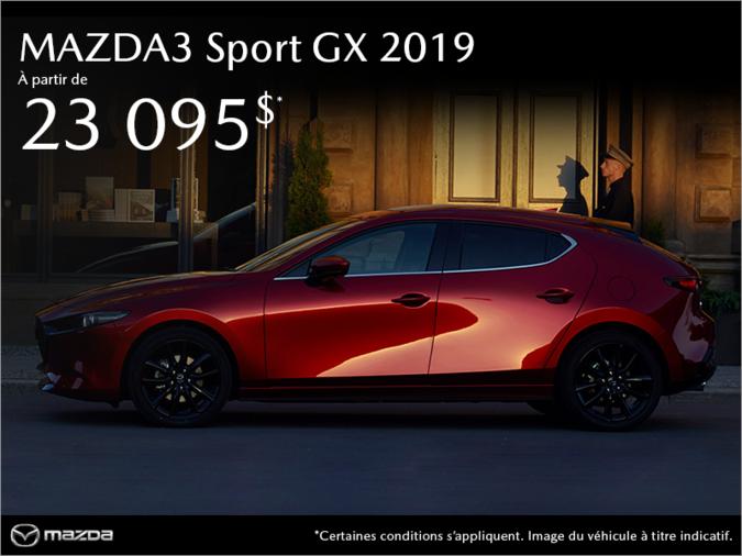 Mazda Gabriel St-Laurent - Procurez-vous la Mazda3 Sport 2019!