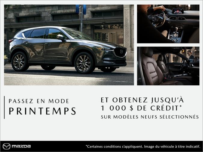 Mazda Des Sources - Passez en mode printemps