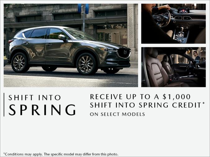 Atlantic Mazda - Shift into Spring