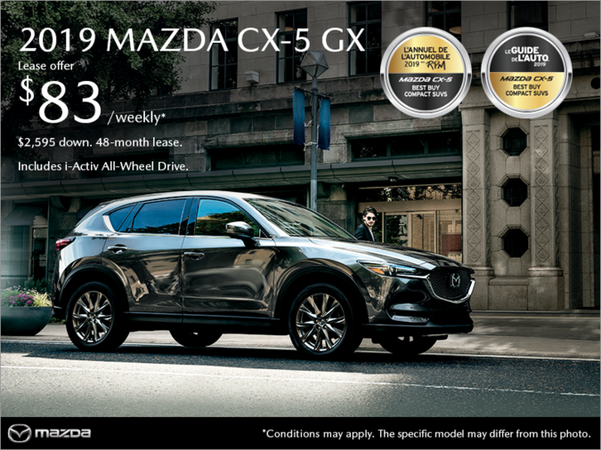 Mazda Saint-Jérôme - Get the 2019 Mazda CX-5!