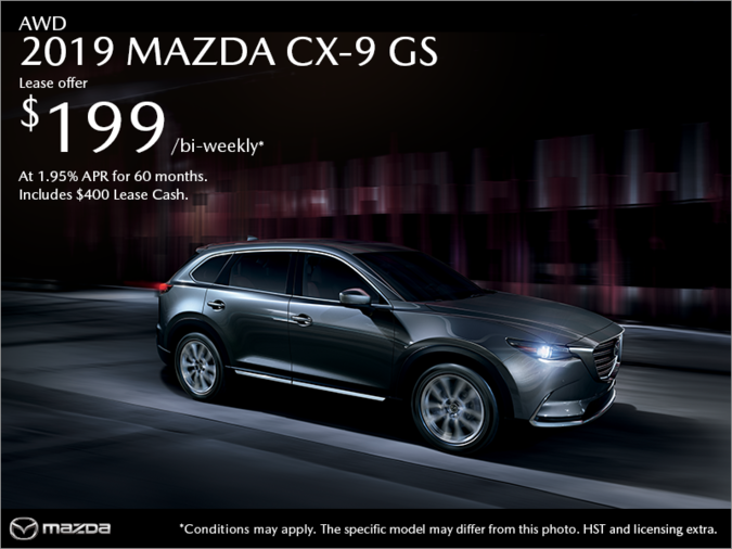 Chatham Mazda - Get the 2019 Mazda CX-9 Today!