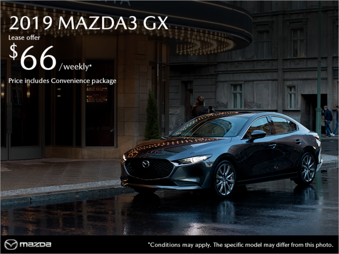 Mazda Gabriel St-Jacques - Get the 2019 Mazda3!