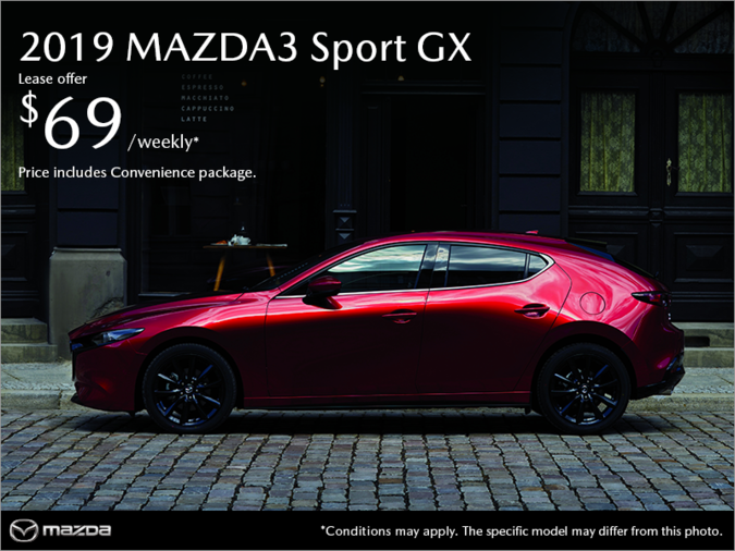 Mazda Saint-Jérôme - Get the 2019 Mazda3 Sport!