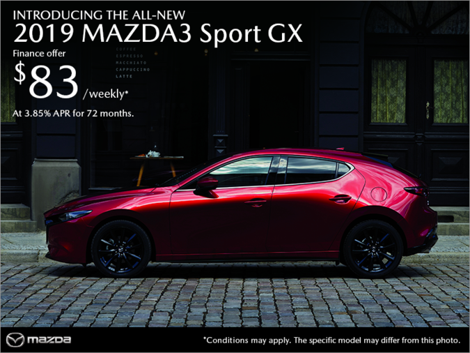 Regina Mazda - Get the 2019 Mazda3 Sport today!