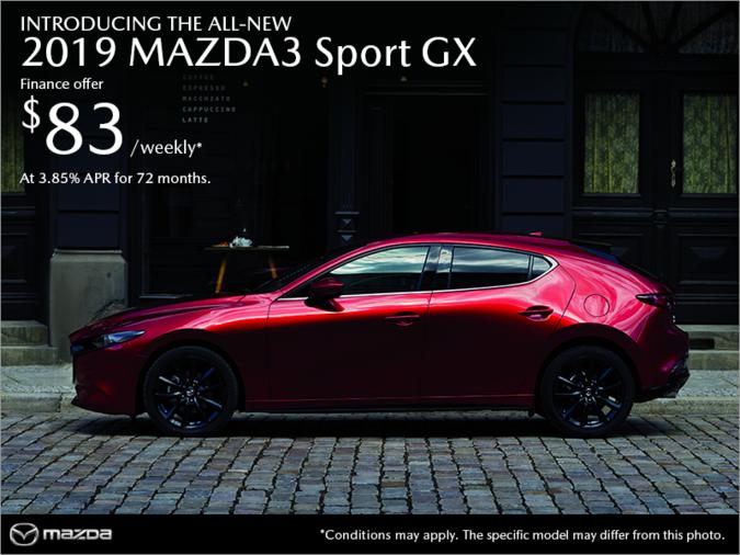 Forman Mazda - Get the 2019 Mazda3 Sport today!