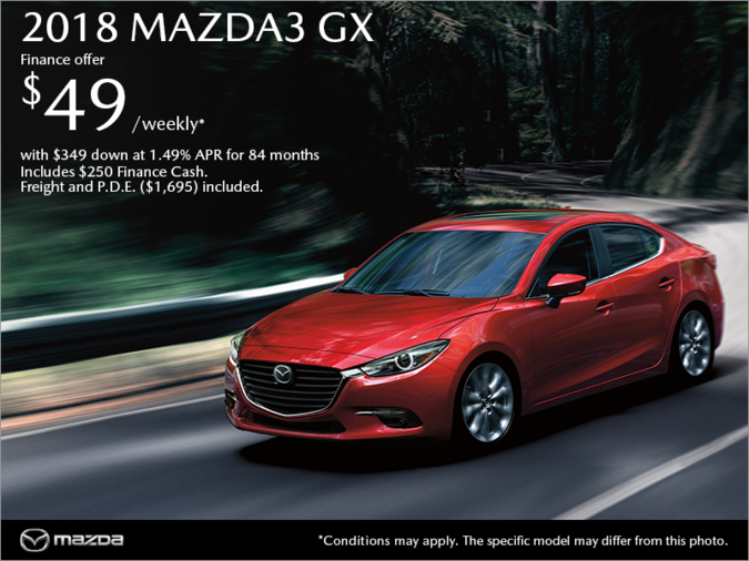 Atlantic Mazda - Get the 2018 Mazda3 Today!