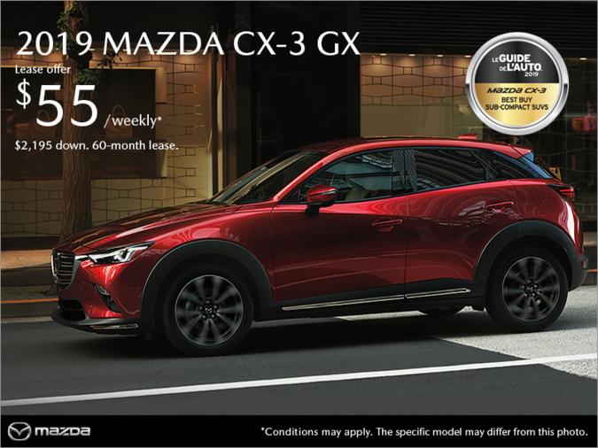 Mazda Pointe-aux-Trembles - Get the 2019 Mazda CX-3!