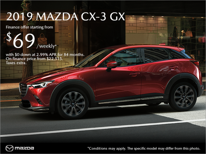 Coastline Mazda - Get the 2019 Mazda CX-3 today!