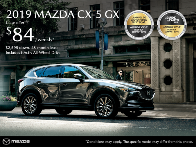 Mazda Pointe-aux-Trembles - Get the 2019 Mazda CX-5!