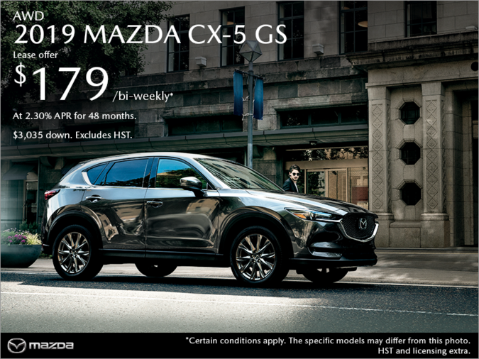 Bay Mazda - Get the 2019 Mazda CX-5 Today!