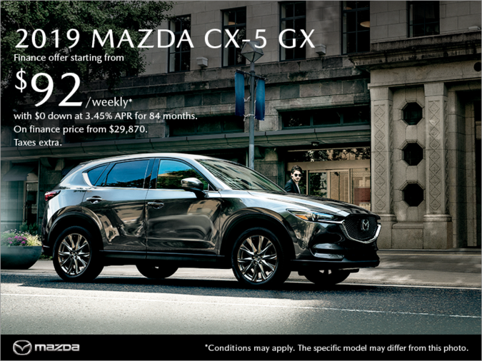 VIP Mazda - Get the 2019 Mazda CX-5 today!