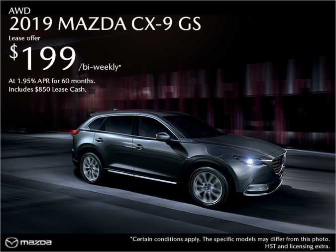 Agincourt Mazda - Get the 2019 Mazda CX-9 Today!