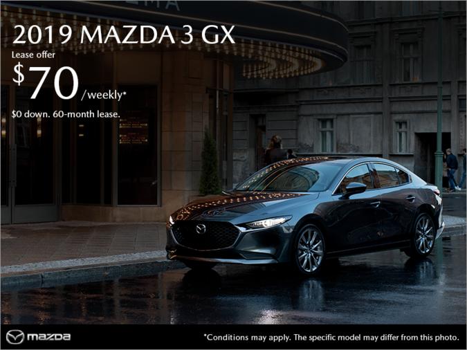 Mazda Repentigny - Get the 2019 Mazda3!