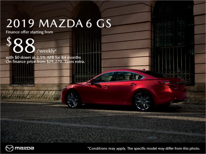 Coastline Mazda - Get the 2019 Mazda6 today!