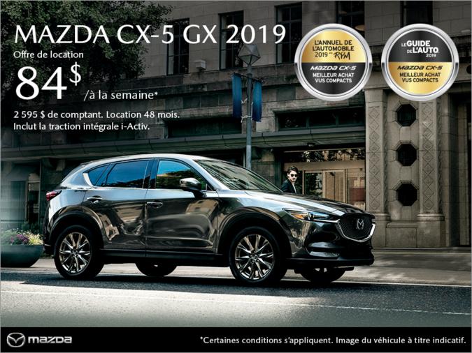 Mazda Pointe-aux-Trembles - Procurez-vous le Mazda CX-5 2019!