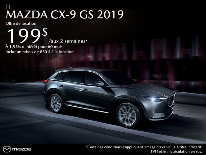 401 Dixie Mazda - Procurez-vous la Mazda CX-9 2019 aujourd'hui!