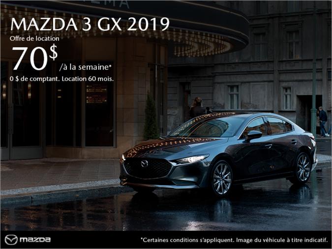 Mazda Pointe-aux-Trembles - Procurez-vous la Mazda3 2019!