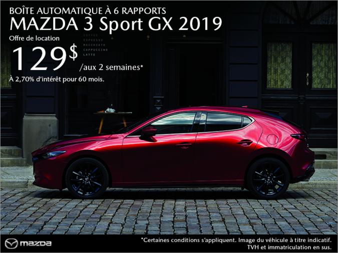 Agincourt Mazda - Procurez-vous une Mazda3 Sport 2019 aujourd'hui!