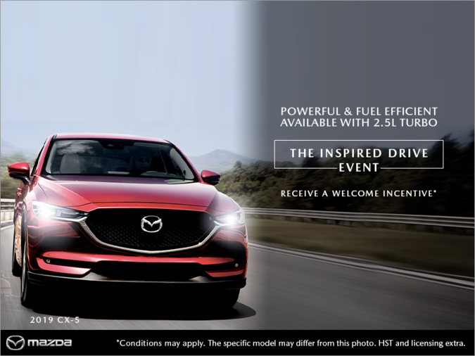 Lallo Mazda - The Inspired Drive event