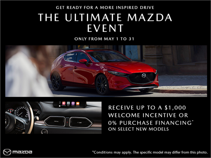 Mazda Gabriel St-Jacques - The Ultimate Mazda event