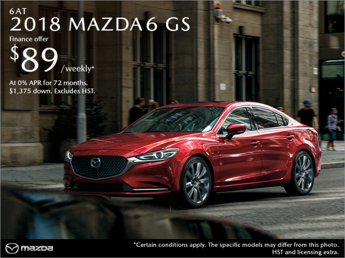 St. Catharines Mazda - Get the 2018 Mazda6 Today!