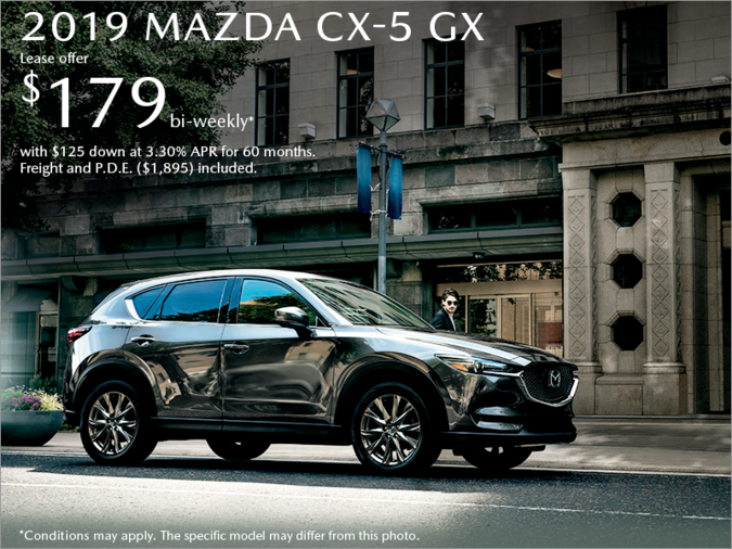 Atlantic Mazda - Get the 2019 Mazda CX-5 Today!