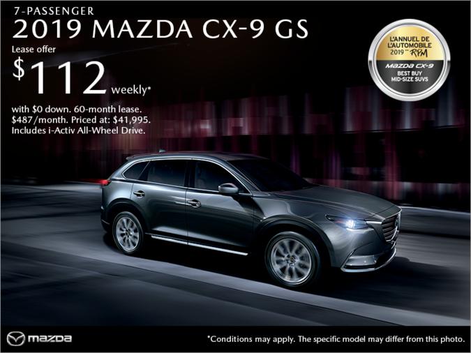 Mazda Repentigny - Get the 2019 Mazda CX-9!