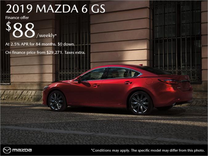 Forman Mazda - Get the 2019 Mazda6 today!