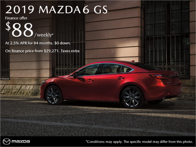 Regina Mazda - Get the 2019 Mazda6 today!