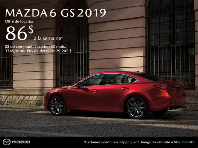 Mazda Gabriel St-Jacques - Procurez-vous la Mazda6 2019!