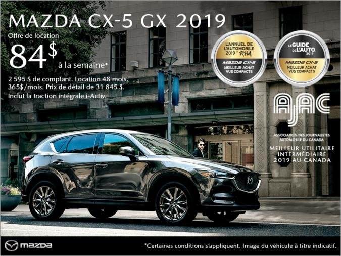 Mazda Drummondville - Procurez-vous le Mazda CX-5 2019!