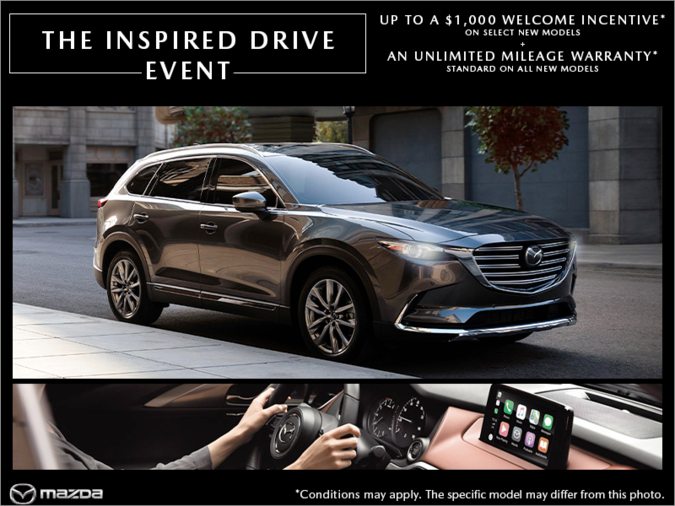 Duval Mazda - The Inspired Drive Event