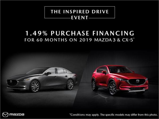 Regina Mazda - The Inspired Drive Event