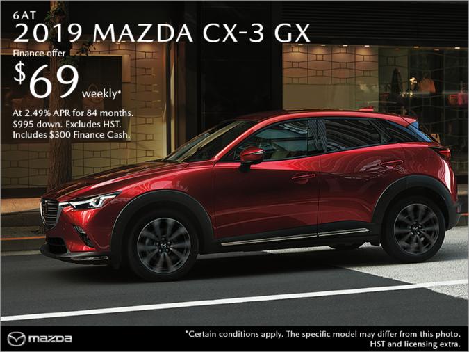 Agincourt Mazda - Get the 2019 Mazda CX-3 Today!