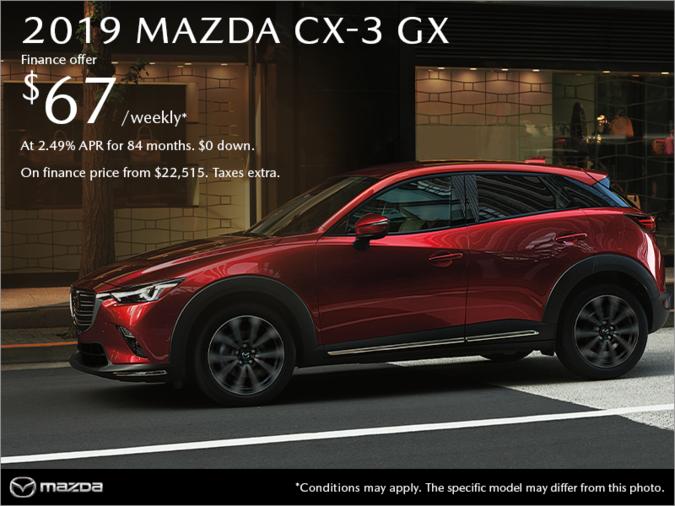 Coastline Mazda - Get the 2019 Mazda CX-3 today!