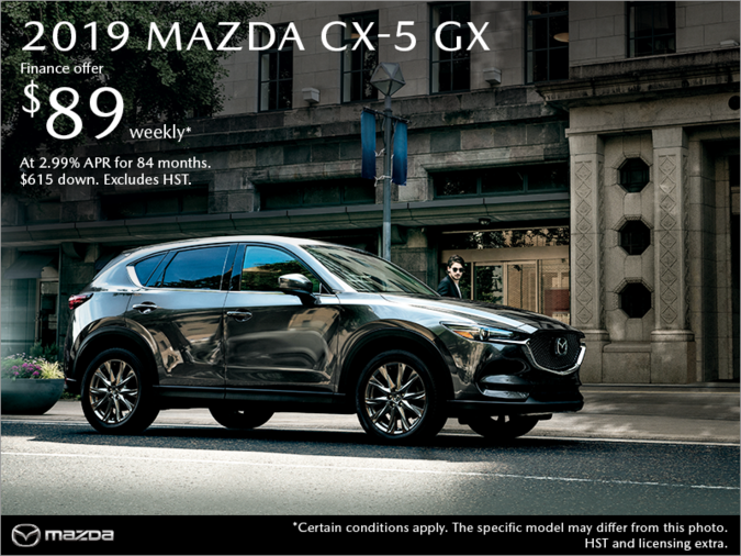 Lallo Mazda - Get the 2019 Mazda CX-5 Today!