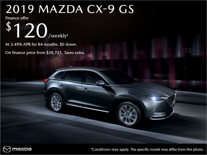 VIP Mazda - Get the 2019 Mazda CX-9 today!