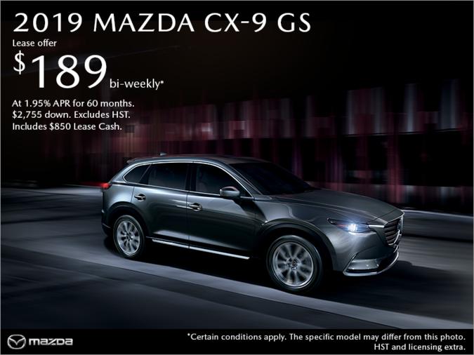 Bay Mazda - Get the 2019 Mazda CX-9 Today!