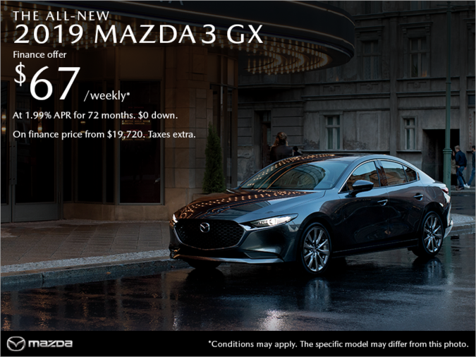 Coastline Mazda - Get the 2019 Mazda3 today!
