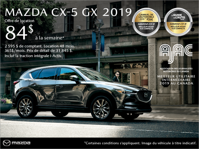 Mazda Joliette - Procurez-vous le Mazda CX-5 2019!