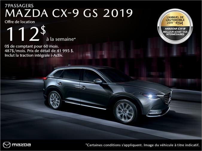 Mazda Repentigny - Procurez-vous le Mazda CX-9 2019!