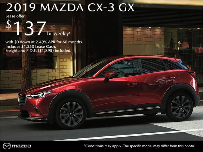 Mazda Cx 3 Lease >> Bayside Mazda Get The 2019 Mazda Cx 3 Today