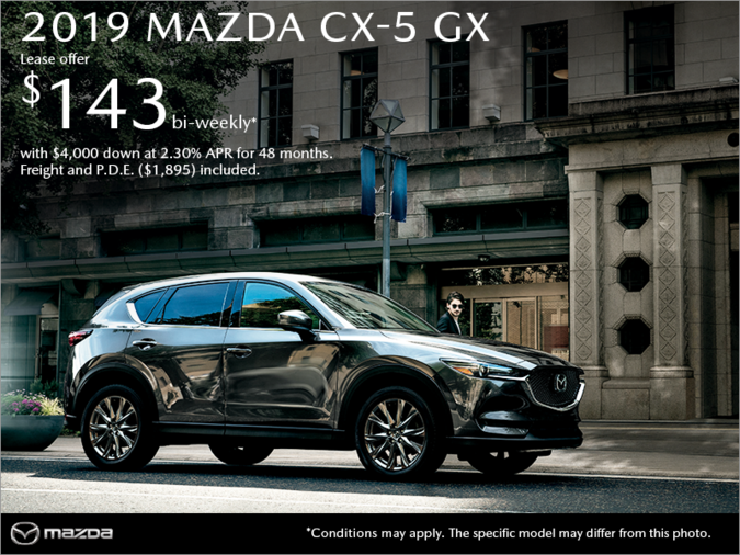 Get the 2019 Mazda CX-5 Today!