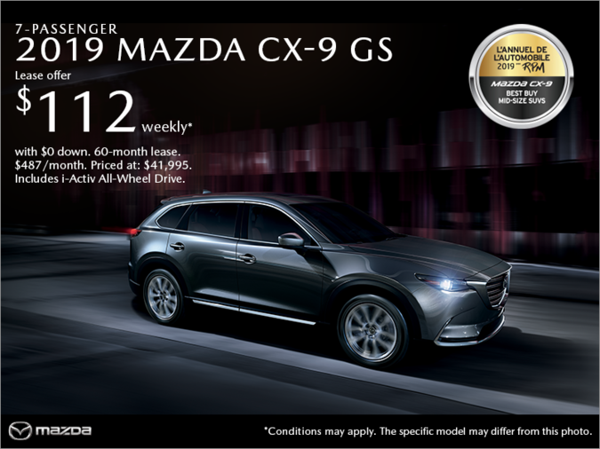 Mazda Repentigny - Get the 2019 Mazda CX-9!