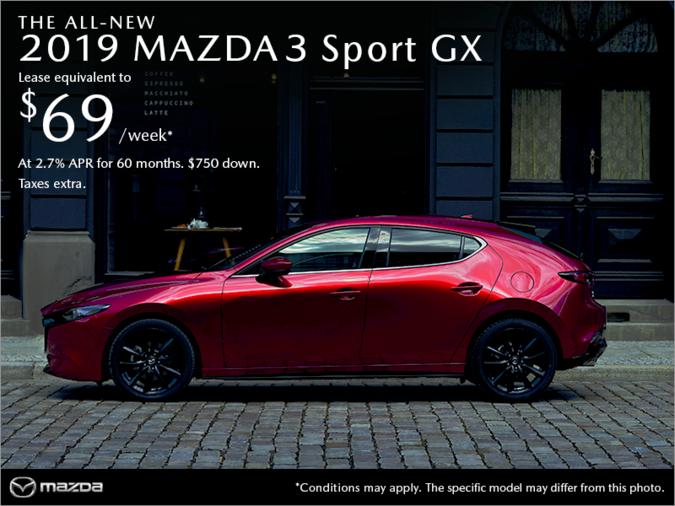 VIP Mazda - Get the 2019 Mazda3 Sport today!