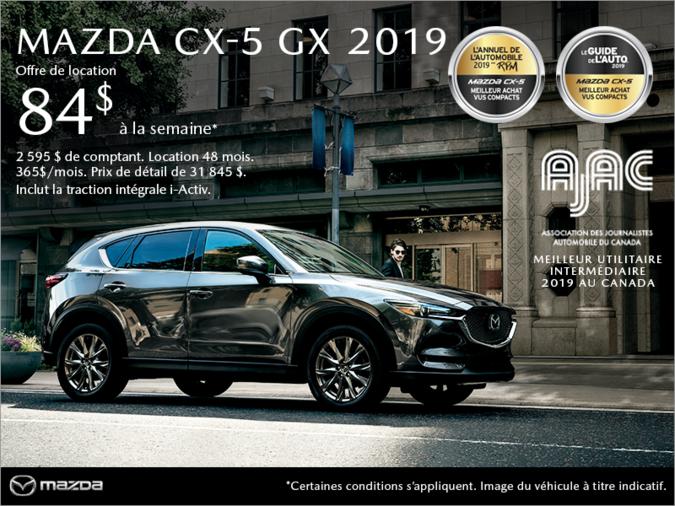 Mazda Des Sources - Procurez-vous le Mazda CX-5 2019!