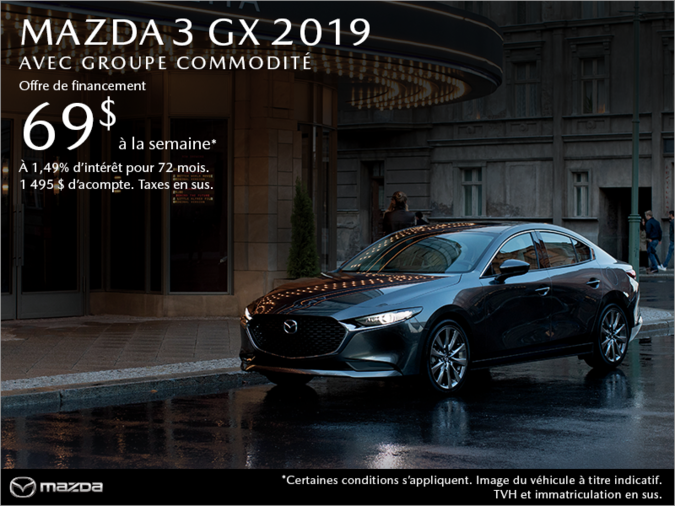 Agincourt Mazda - Procurez-vous une Mazda3 2019 aujourd'hui!