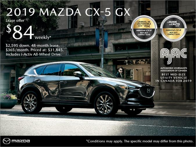 Mazda Gabriel St-Laurent - Get the 2019 Mazda CX-5!