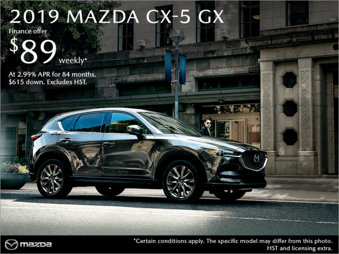 Agincourt Mazda - Get the 2019 Mazda CX-5 Today!